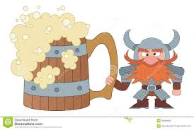 Dwarf With Great Beer Mug Stock Vector Image Of Character 30862969