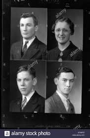 high school yearbook search mcguffey high school yearbook portraits 1937 stock photo royalty