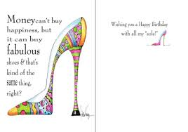 birthday cards with shoes birthday cards from happy birthday cards