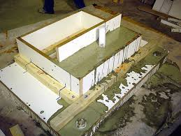 how to build a concrete sink concrete countertop casting which method is best for the job