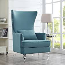 High End Living Room Chairs Armchair High Back Accent Chair High Back Living Room Chair High