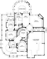 small luxury homes floor plans luxury style house plans 5250 square foot home 2 story 4
