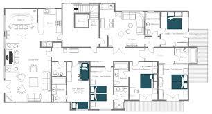 Cote D Azur Floor Plan by Catered Ski Chalet St Anton Apartment Solanum Leo Trippi