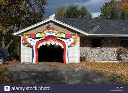 halloween garage decorations scary clown stock photos u0026 scary clown stock images alamy