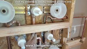 tile kohler water tile installation home design image simple to