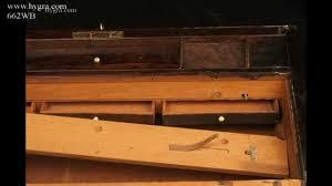 Hidden Laptop Desk by Antique Regency Writing Box Lap Desk In Figured Rosewood Circa