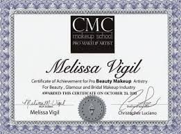 make up school nyc to get makeup artist certification