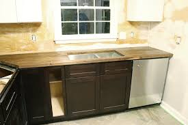 Kitchen Sink Countertop How To Cut Seal U0026 Install Butcherblock Countertops With An