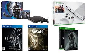 x box black friday amazing amazon black friday ps4 slim uncharted 4 fallout skyrim