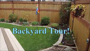 backyard garden tour may 2015 youtube