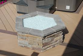 Fire Pit Glass Stones by Turn Your Old Lava Rock Into A Modern Glass Fire Pit Our Fire