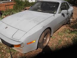 parts for porsche 944 find used porsche 944 for parts restore or race car no rust