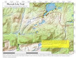 Tos Map Pharaoh Lake U2013 Andy Arthur Org