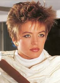 1980s short wavy hairstyles cute 80s short spiky hairstyles for women over 40 with round faces