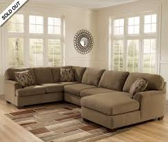 Pottery Barn 3 Piece Sectional 3 Piece Sectional Sofa With Reversible Chaise And Ottoman Radley