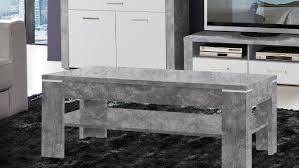 couchtische in betonoptik couchtisch tisch wohnzimmertisch 121x76cm betonoptik lichtgrau