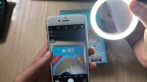 Light For Phone Portable Flash Led Camera Photography Selfie Ring Light For Iphone