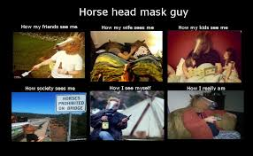 Horse Head Meme - no jesus no peas february 2012