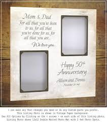 50th anniversary gift for parents anniversary gifts parents golden anniversary 25th anniversary