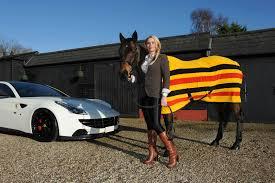 ferrari horse 2014 ferrari ff by oakley design detail photo woman with horse