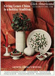 Lenox Christmas Vase Lenox China Is A Holiday Tradition 1969 U0026 1972 Click Americana