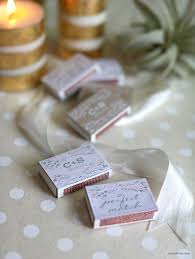 wedding matchboxes personalized wedding matchbox favors lia griffith