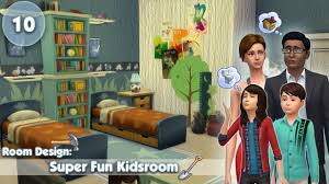 home design games like the sims the sims 4 room design super fun kidsroom youtube
