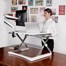 Sit Stand Adjustable Desk Pricedepot Flexispot M2b M2w Height Adjustable Sit Stand Desktop
