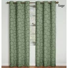 Eclipse Blackout Curtains Meridian Thermaback Tm Blackout Grommet Curtain Panels