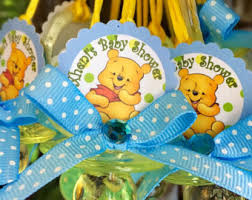 winnie the pooh baby shower favors pooh baby shower etsy