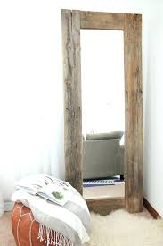 wall mirrors rustic wood framed wall mirrors diy rustic wood