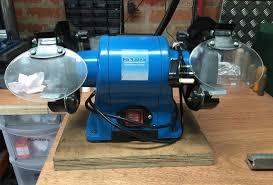 pro max 350w 6inch bench grinder u2013 review novice framebuilder