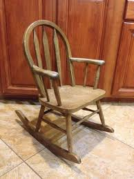 Mini Rocking Chair About Me Rebecca Waring Crane
