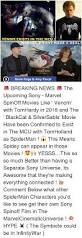 venom exists in the mcu marvel u0026 sony made a deal spiderman co