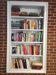 Shelves Built Into Wall Idiosyncratic Book Shelving 101
