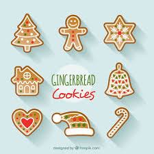 Decoration Christmas Vector by Set Of Decorative Christmas Cookies Vector Free Download