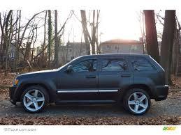 matte jeep grand cherokee 2006 custom matte black jeep grand cherokee srt8 58915565 photo