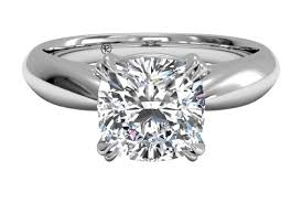 diamondless engagement rings ritani solitaire tulip cathedral engagement ring in 14kt