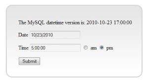 date format how to format date time input from a php form into mysql unix