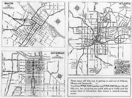 Map Of Savannah Ga Hargrett Library Rare Map Collection Transportation