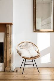 bamboo hoop chair style of rohe noordwolde hand made home