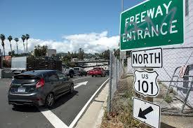 Caltrans Traffic Map 50 Years Ago La Got Its First Freeway Onramp Meter Here U0027s How