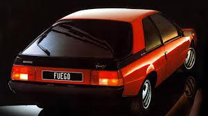 1984 renault fuego worst sports cars renault fuego