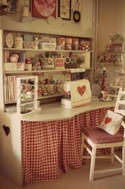 the cutest sewing station from sew a little love blog good ideas