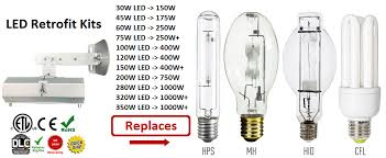 400 watt metal halide light bulbs vs led lumen comparison