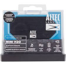 altec lansing imw255 mini h2o bluetooth wireless speaker walmart com