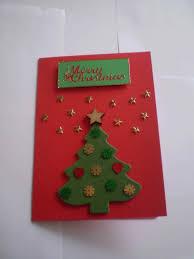 sequins handprint s kid glued to my handprint christmas tree card