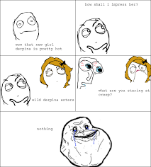 Forever Alone Guy Meme - 15 forever alone hilarious memes page 2 of 4 wittycrate
