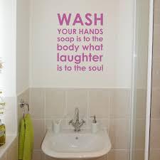 wonderful bathroom wall decals for design ideas bathroom wall decals