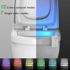 oxyled oxysense tn01 toilet night light light sensitive u0026 motion
